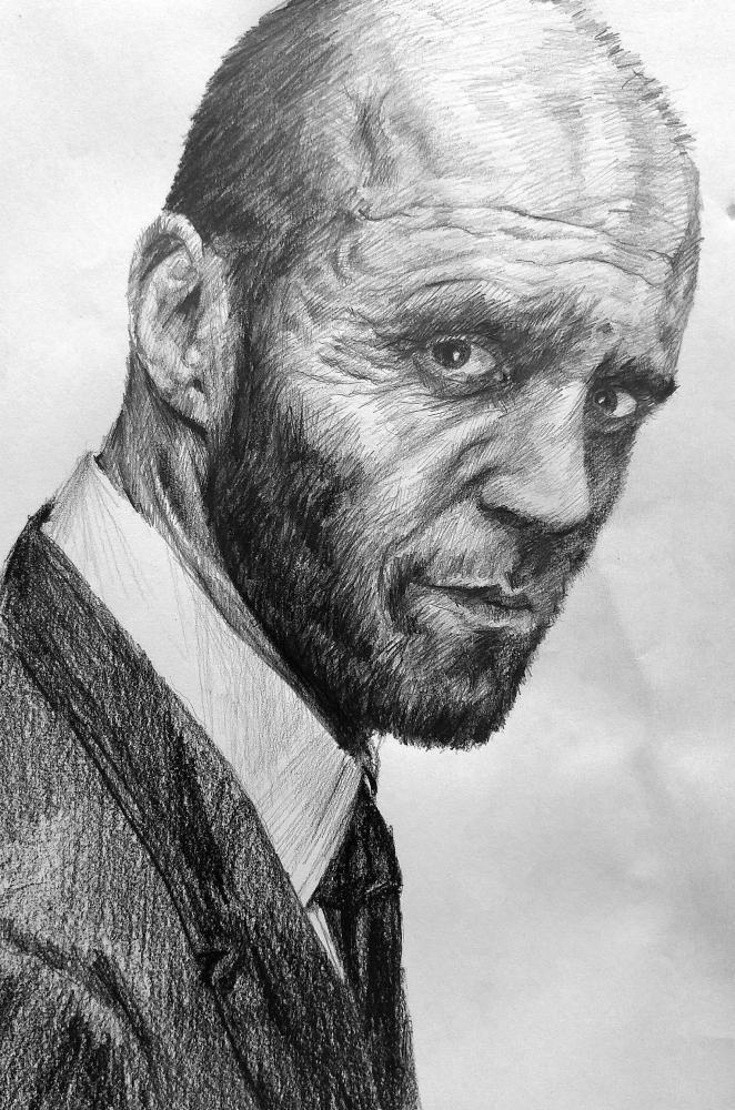 Jason Statham by linshyhchyang